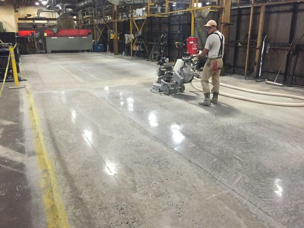 Floor Grinding & Polish